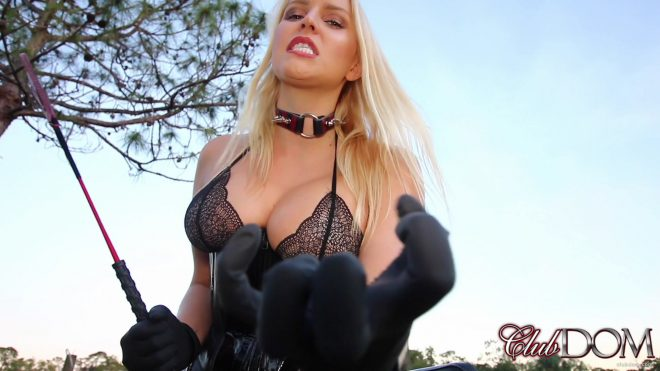 Club Dom: Vanessa Tortures your Cock and Balls POV