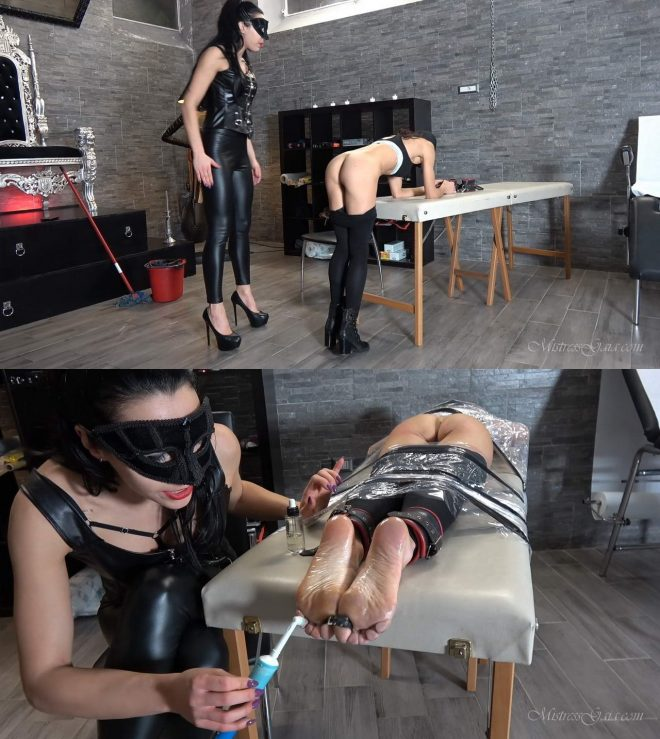 MISTRESS GAIA: TICKLE TABLE OF TORTURE