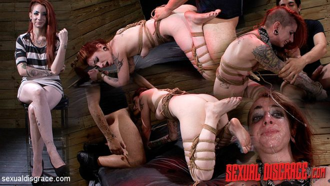 SEXUAL DISGRACE: Sheena Rose Gets Used for the 3rd Time