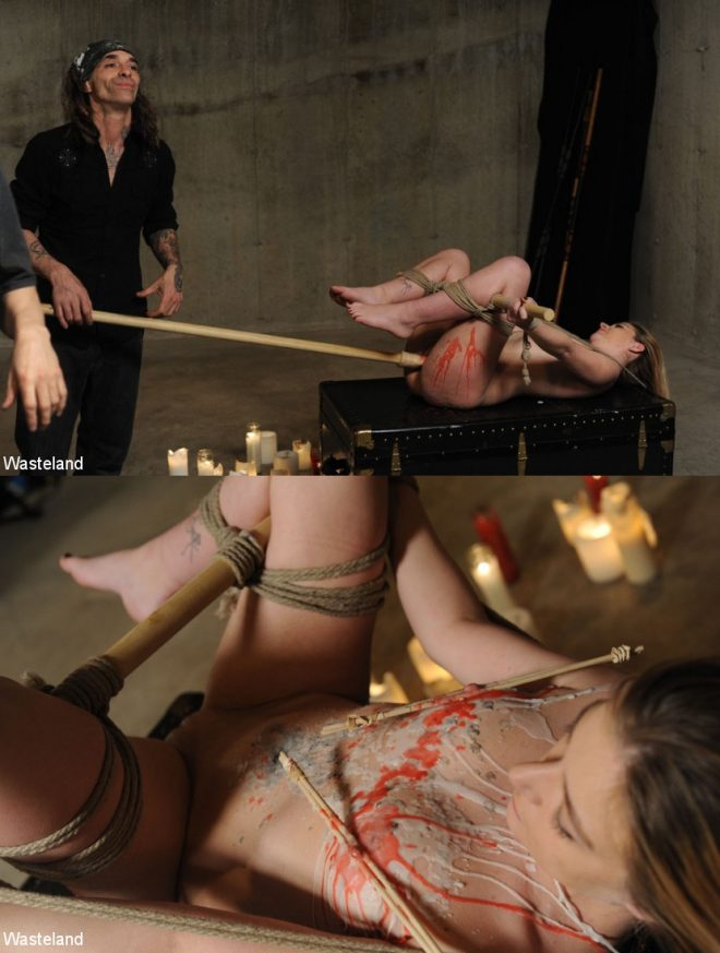 WASTELAND: March 21, 2019 – Lilly Ligotage, Shadrack Stargazer/Teen BDSM Sex and Submission – Lily Exposed