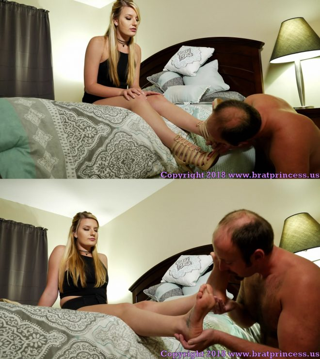 Brat Princess 2: Chloe – Clean My Feet and Sandals with Your Mouth (1080 HD)