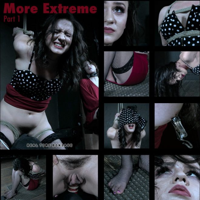 REAL TIME BONDAGE: Apr 6, 2019: More Extreme Part 1 | Alex More/Alex is spiked and denied orgasm.