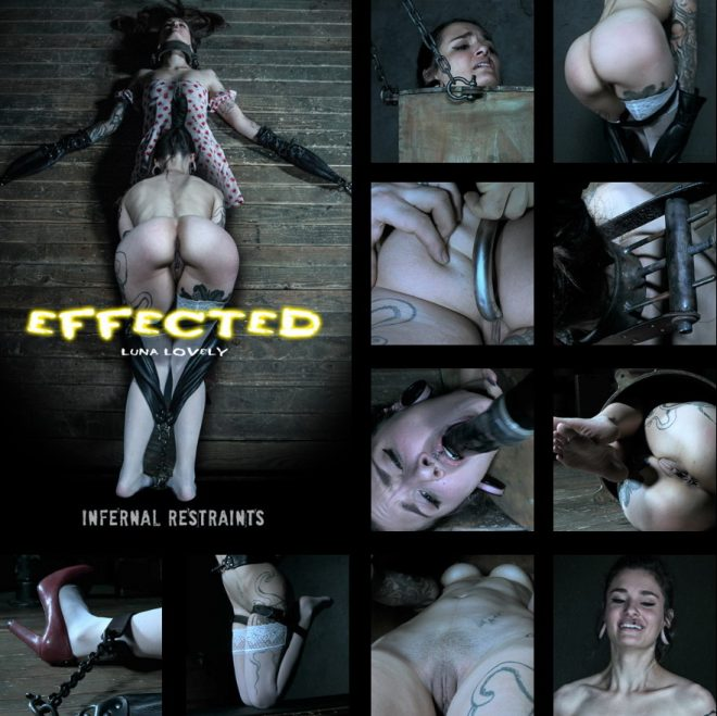 INFERNAL RESTRAINTS: May 10, 2019: Effected | Luna Lovely/Luna Lovely gets effected by her predicament.