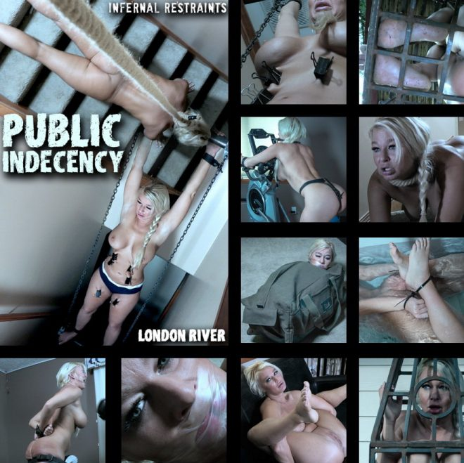 INFERNAL RESTRAINTS: May 17, 2019: Public Indecency | London River/London River is taught a lesson about her public displays.