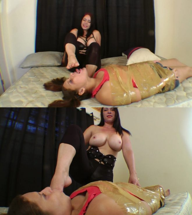 Mf Video Brazil: Foot Domination Beautiful Milf By Aline Moraes And Slave Ariel