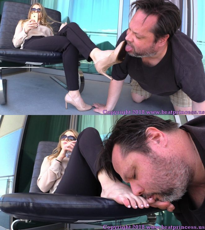 Brat Princess 2: Amber – Loser Licks Filthy Shoes to Earn Stinky Foot Worship (1080 HD)