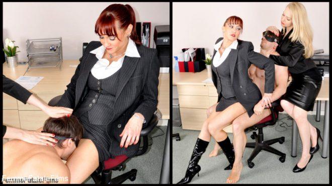 Femme Fatale Films: June 26, 2019 – Miss Miranda, Mistress Eleise de Lacy, Slave/Office Sex Toy