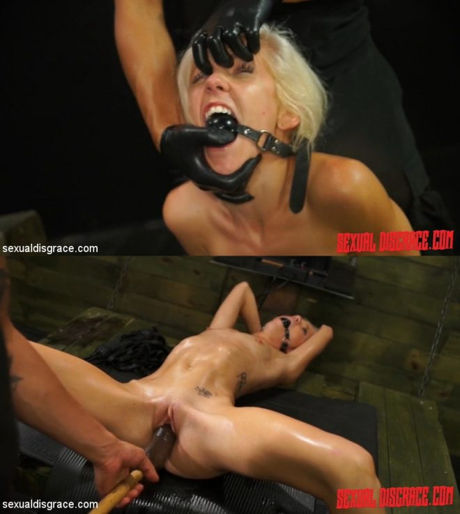 SEXUAL DISGRACE: Halle Von Sexual Disgrace Spanked Stupid