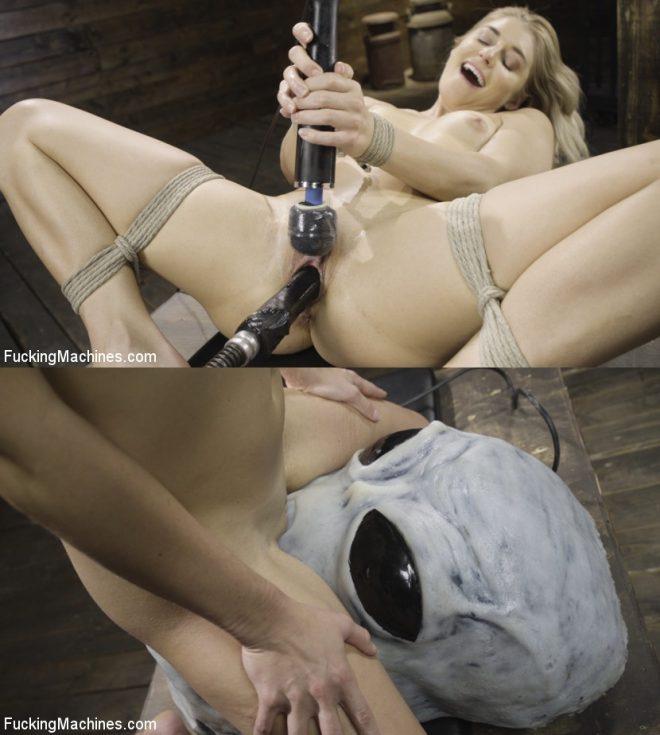 Pinch her boob