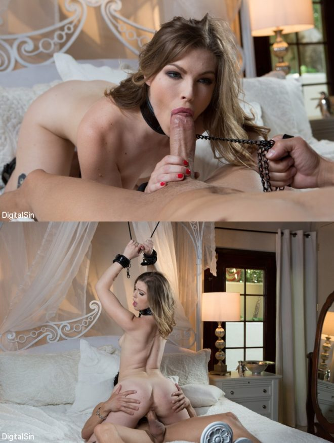 DIGITAL SIN: Not So Pure Ella Gets Bounded And Pounded