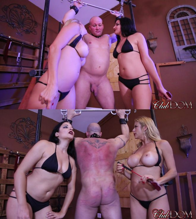 Club Dom Alexis Fawx and Michelle Lacy: The Broken Down Car Trick