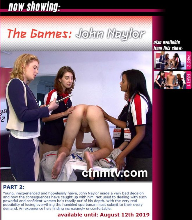cfnmtv: The Games: John Naylor (part 1-2)
