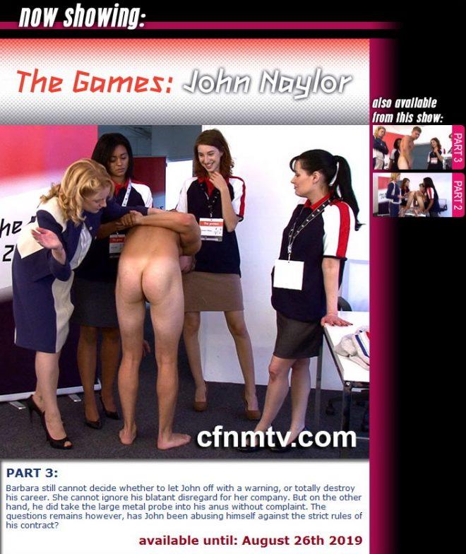 cfnmtv: The Games: John Naylor (part 1-3)