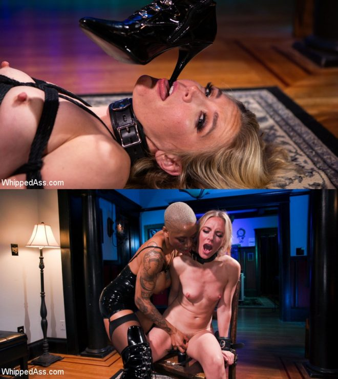 WHIPPED ASS: July 4, 2019 – Mona Wales, Ashley Page/Off The Books: Mona Wales Submits to Mistress Ashley Paige