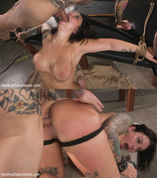SEX AND SUBMISSION: July 19, 2019 – Small Hands, Ivy LeBelle/Idle Hands: Ivy LeBelle gets tied up and fucked by Small Hands