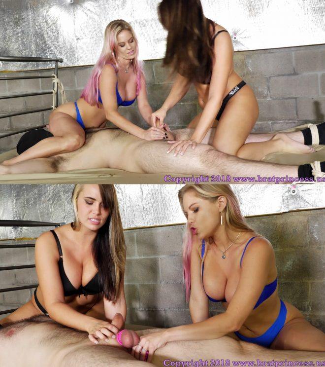 Brat Princess 2: Anabelle and Natalya – Long Edging Salon Session Leads to Frustrating Climax (1080 HD)