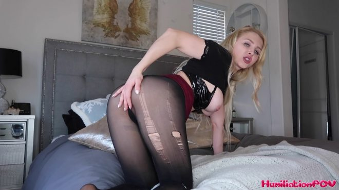 Humiliation POV Alix Lynx: Blackmailed By Your Ex Babysitter