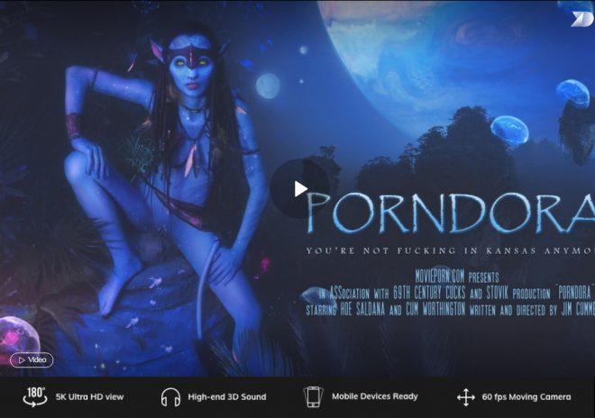 X Virtual/Movie Porn: Porndora in 180° X (Virtual 46) – (4K) – VR