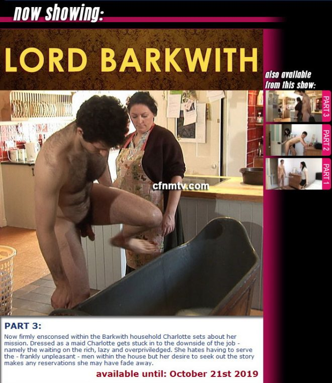 cfnmtv: Lord Barkwith (part 1-3)