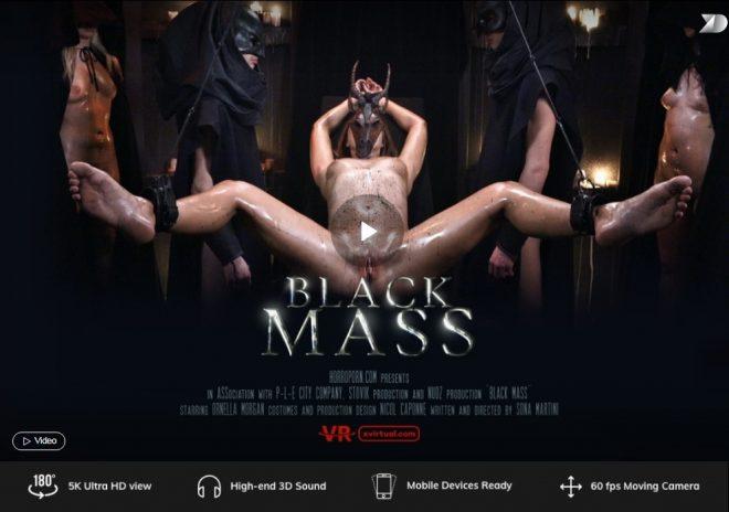 X Virtual/Horror Porn: Black mass in 180°  – (X Virtual 43) – (4K) – VR