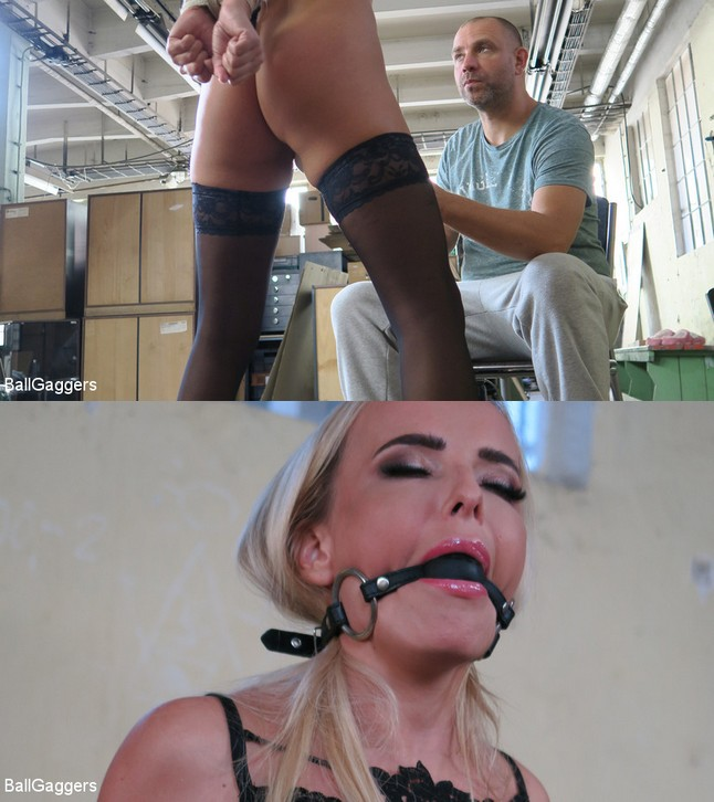 BALLGAGGER: July 31, 2019 – Victoria Pure, Jayden Cox/BALLGAGGER VICTORIA HARDCORE FUCKED AND SPANKED