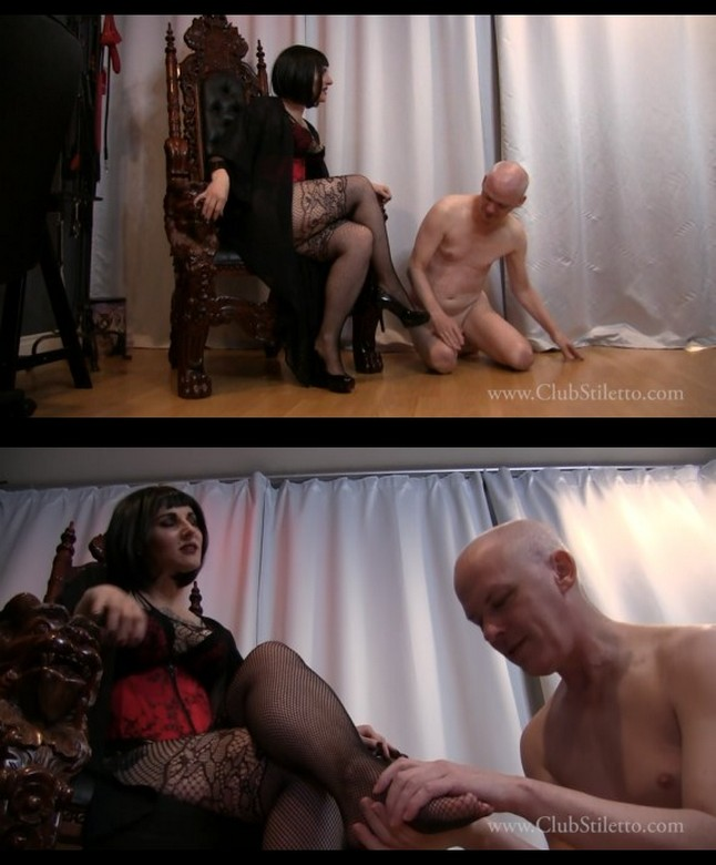 Club Stiletto: Your Friend Gets My Pussy, You Get My Feet