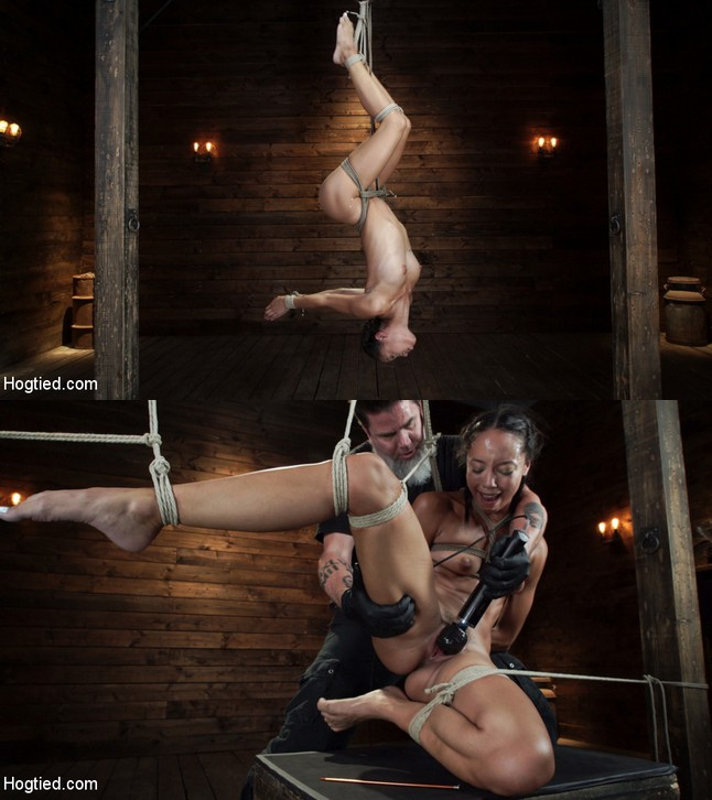 HOGTIED: August 1, 2019 – Alexis Tae/Alexis Tae's First Time Being tormented in Grueling Bondage
