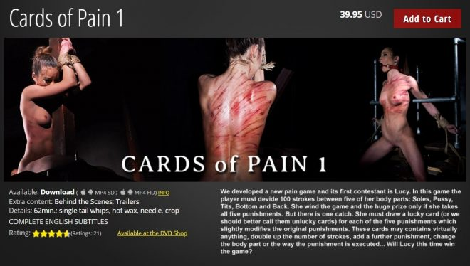 Elite Pain: Cards of Pain 1