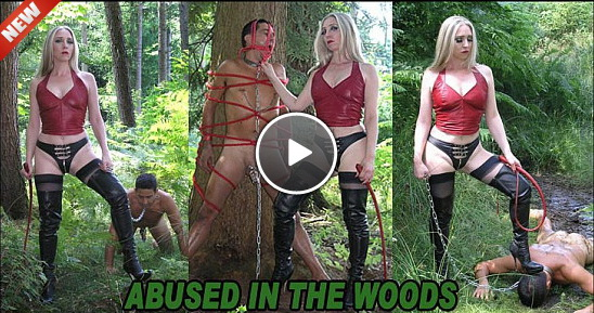 The English Mansion Mistress Sidonia: Abused In The Woods (Part 1-2)