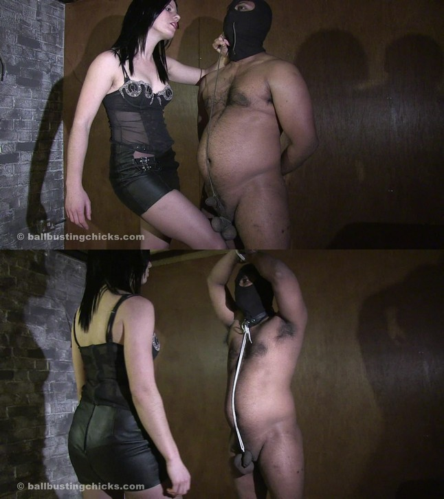 Ball Busting Chicks: Pip: Black Man Humiliated!