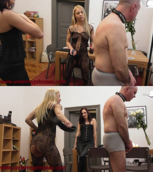 Under my princess: Whipping labor needs payment!