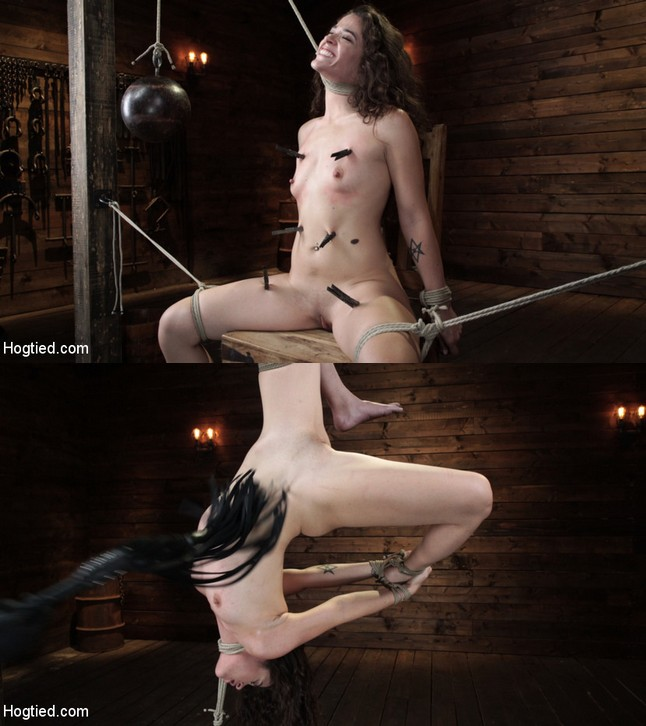 HOGTIED: October 24, 2019 – Victoria Voxxx/Victoria Voxxx in EXTREME torment, brutal bondage and waterboarding!