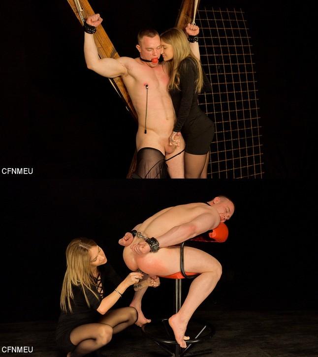 CFNMEU/Clothed Female Naked Male Europe: October 23, 2019 – Jan Bavor, Dominantni Sestra/CFNM JAN BAVOR
