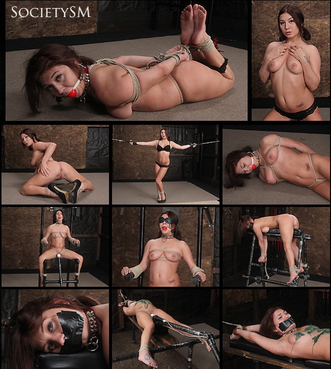 Dungeon Corp/SocietySM: Jojo Kiss – Helpless to Cum