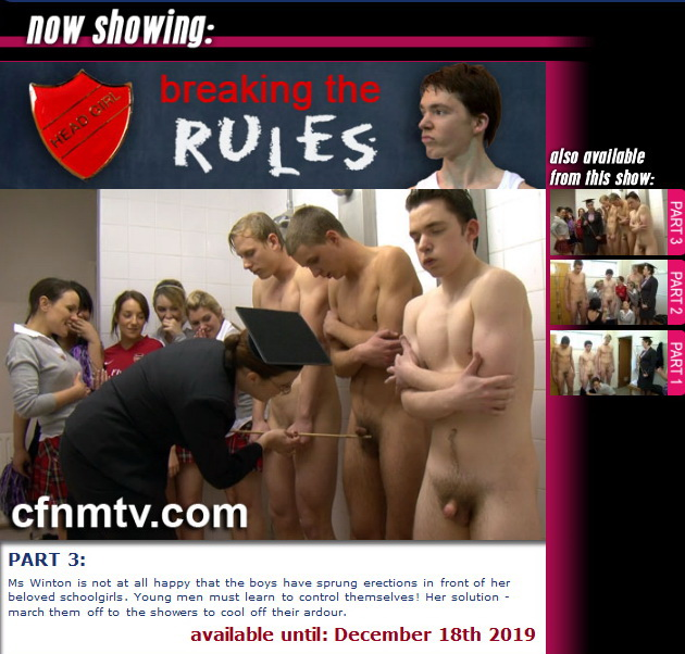 cfnmtv: Breaking The Rules (part 1-3)