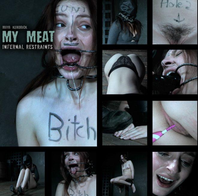 INFERNAL RESTRAINTS: Nov 15, 2019: My Meat | Maya Kendrick/OT bags himself some sweet meat!