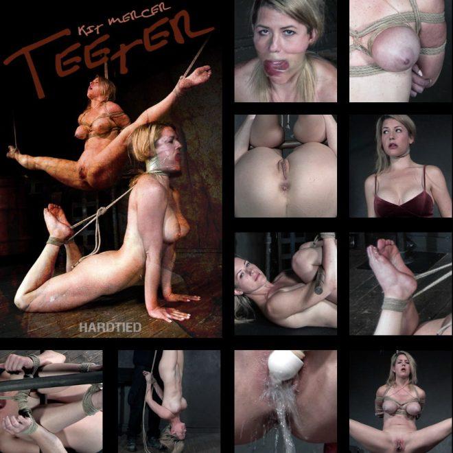 HARDTIED: Nov 20, 2019: Teeter | Kit Mercer/Sexy Kit Mercer tatters on the edge of bondage lust!