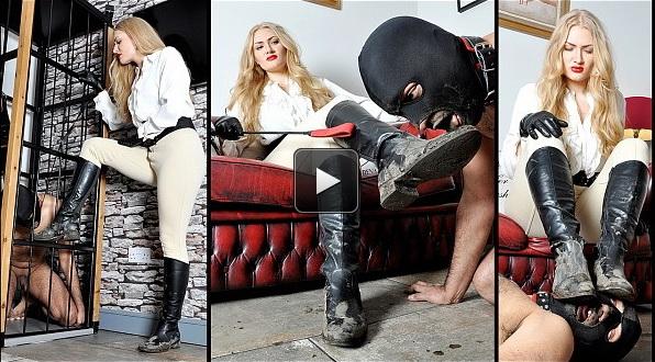 Femme Fatale Films Goddess Dommelia: Dommelia's Dirt Slave – Super HD (Complete)