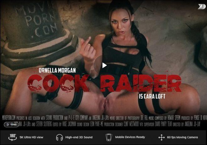 X Virtual/Movie Porn: Cara Loft: Cock Raider in 180° (X Virtual 33) – (4K) – VR