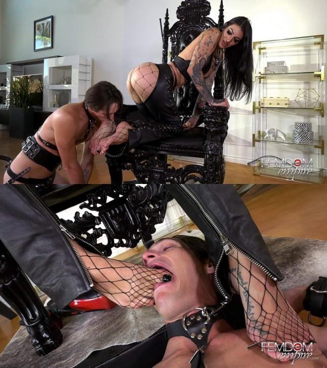 Femdom Empire/vicious femdom empire Goddess Damazonia: Amazon Foot Crush