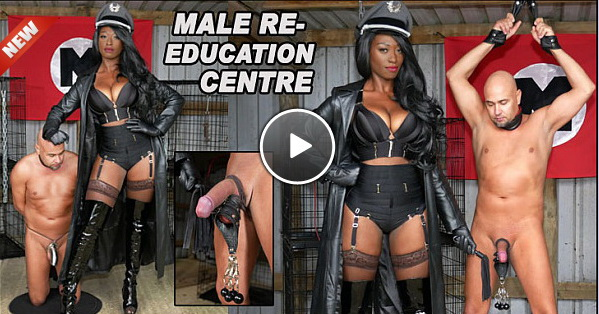 The English Mansion Miss Foxx: Male Re-Education Centre (Part 1 of 4)