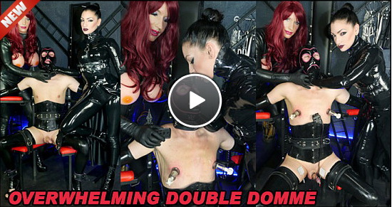 The English Mansion Cybill Troy, Dominant Dolly & Miss Jade Jones: Overwhelming Double Domme (Part 1 of 3)