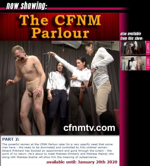 cfnmtv: The CFNM Parlour (Part 1-2)