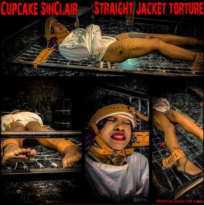 Brutal Master: Cupcake SinClair – Straight Jacket Torture