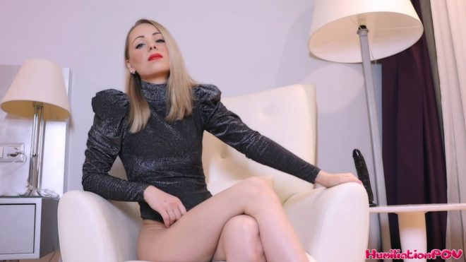 Humiliation POV Russian Queen M: Hate Fuck Yourself While I Verbally Destroy You