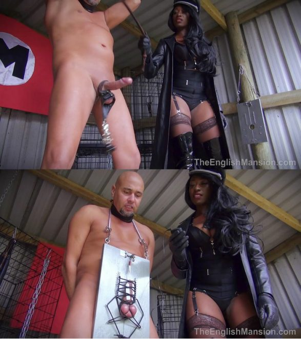 The English Mansion Miss Foxx: Male Re-Education Centre (Part 3 of 4)