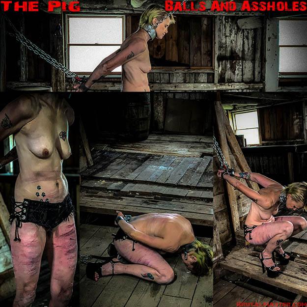 BrutalMaster: The Pig – Balls And Assholes (Release date Jan 16, 2020)