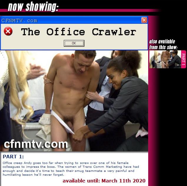 cfnmtv: The Office Crawler (Part 1)