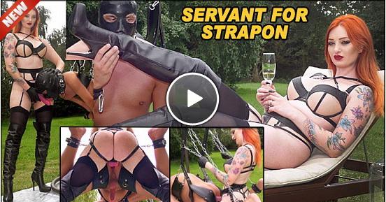 The English Mansion Miss Zara DuRose: Servant For Strapon (Part 1 of 3)