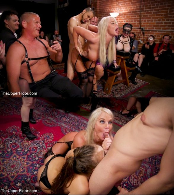 THE UPPER FLOOR: February 7, 2020 – Aiden Starr, Maestro Stefanos, London River, Gia Derza, Donny Sins/Big-Titted Anal Slave Rewarded & Fisted For Training Teen Submissive